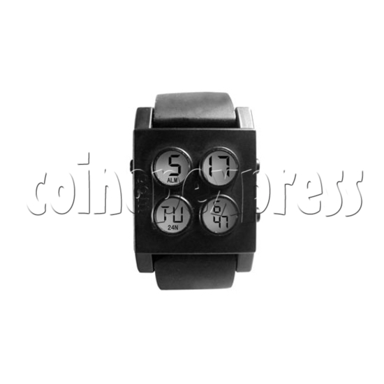 Digital Night Light Wrist Watches 26911