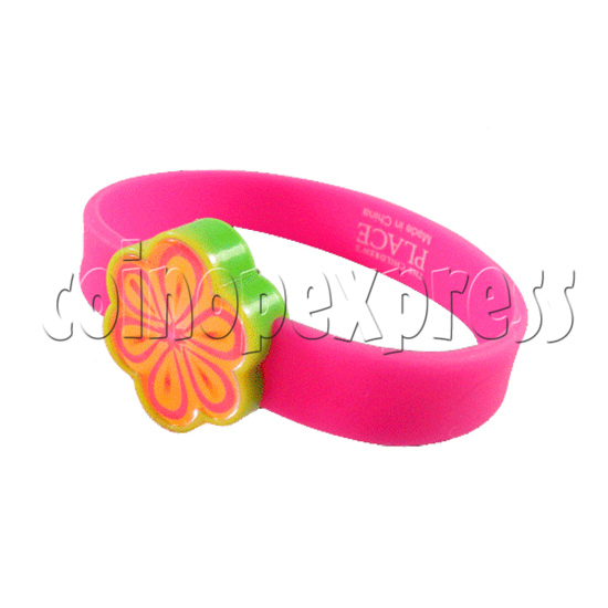 Glitter Power Silicone Wristbands 26915