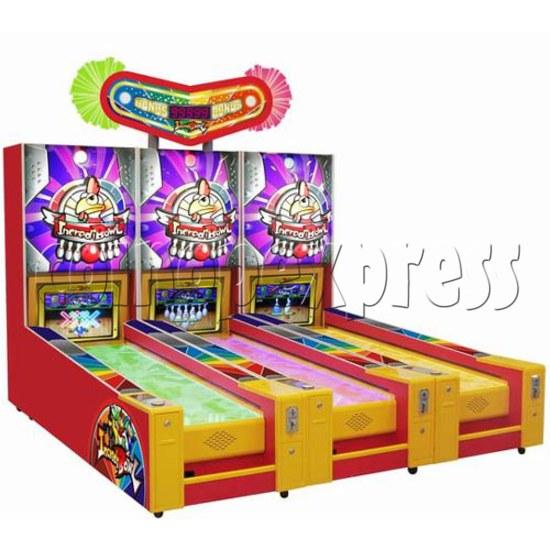 Wooden Ball Bowling machine (3 lanes) 26917