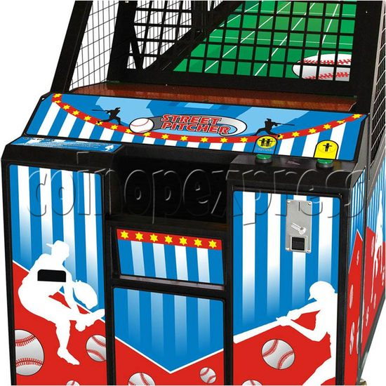 Street Pitcher Basketball machine 26927