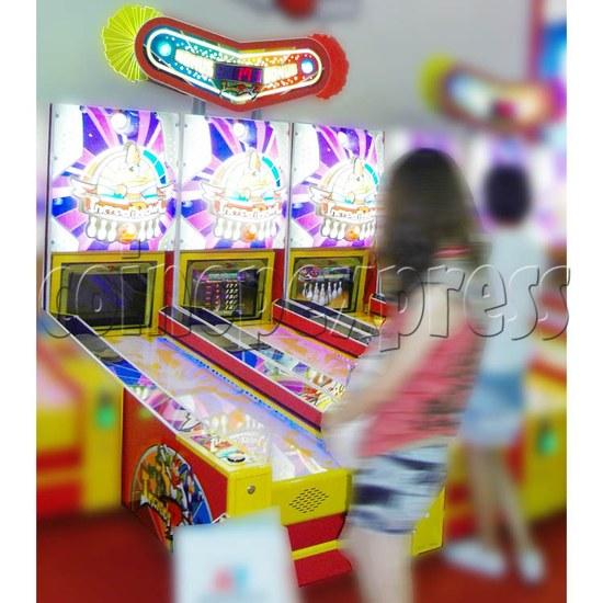 Wooden Ball Bowling machine (3 lanes) 26931