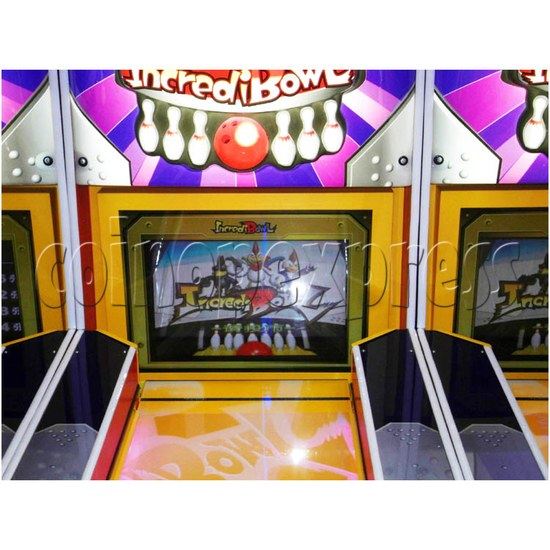 Wooden Ball Bowling machine (3 lanes) 26933