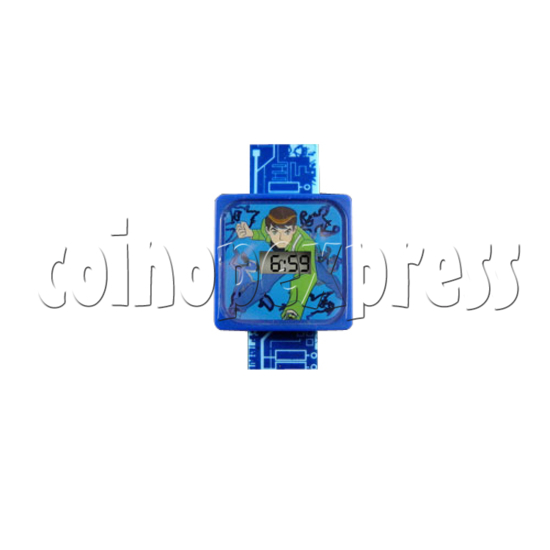 LCD Watch with LED night light 26979