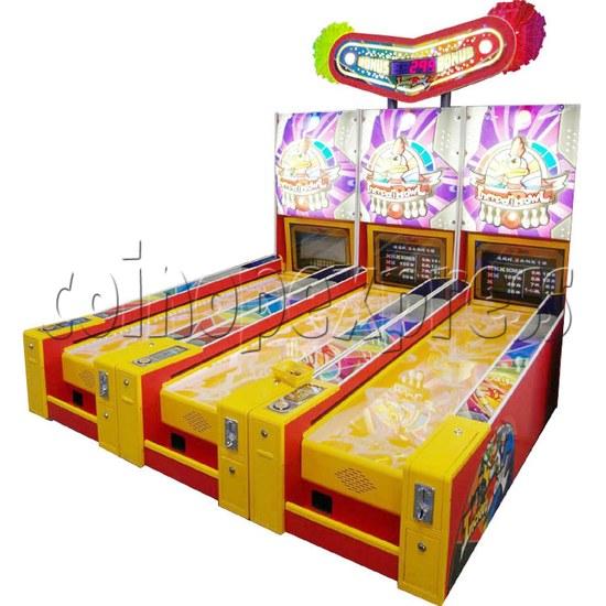 Wooden Ball Bowling machine (3 lanes) 27007