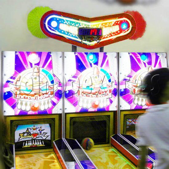 Wooden Ball Bowling machine (3 lanes) 27009