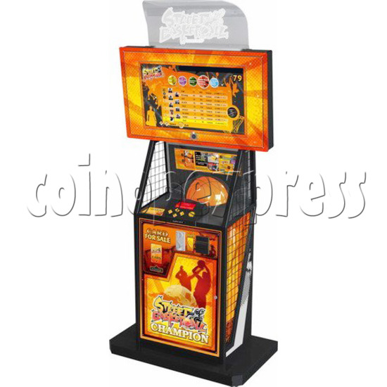 Street Basketball twin machine with server 27013