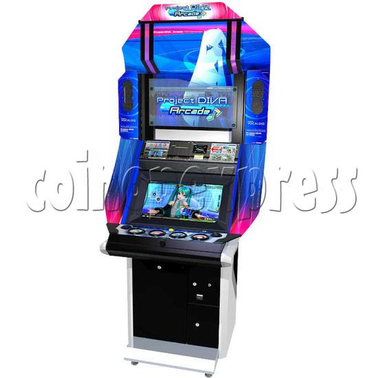 Hatsune Miku Project Diva Arcade machine 27045