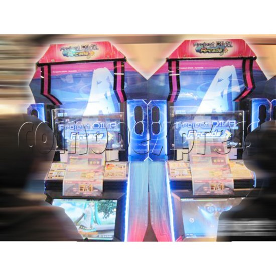 Hatsune Miku Project Diva Arcade machine 27070