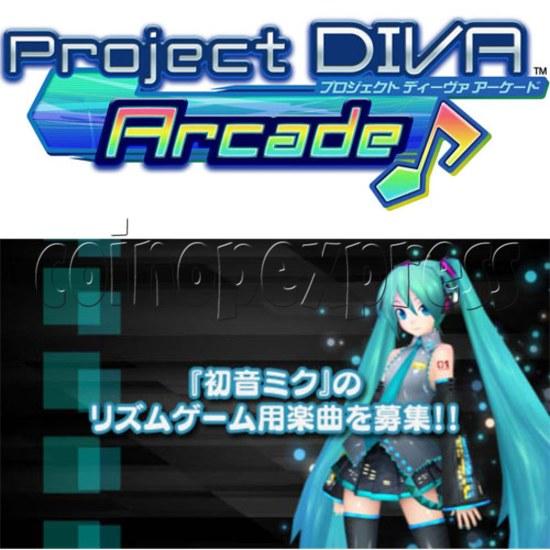 Hatsune Miku Project Diva Arcade machine 27071