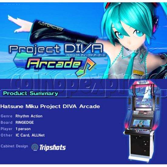 Hatsune Miku Project Diva Arcade machine 27072