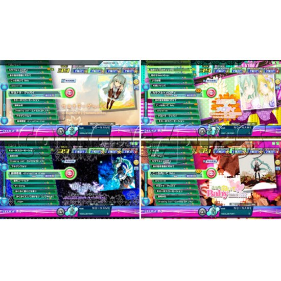 Hatsune Miku Project Diva Arcade machine 27073