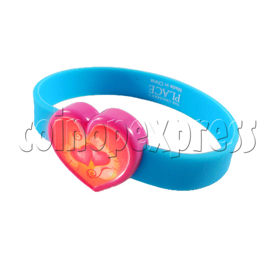 Glitter Power Silicone Wristbands 27087