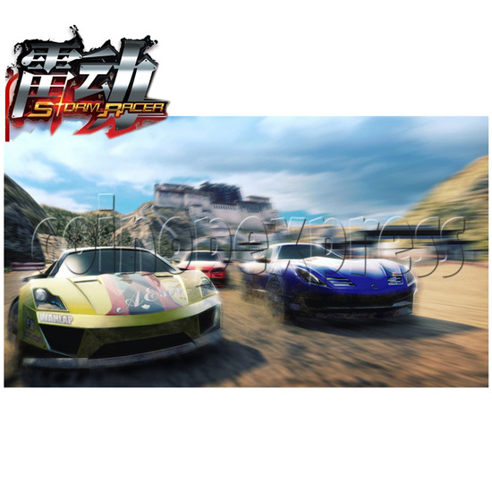 3D Storm Racer Driving Game 27484