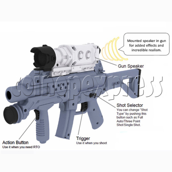 Operation Ghost (55 inch LCD screen) 27739