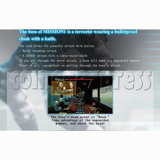 Operation Ghost (55 inch LCD screen) 27741