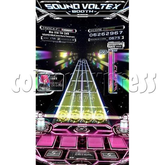 Sound Voltex 4 Arcade Machine offline 27754
