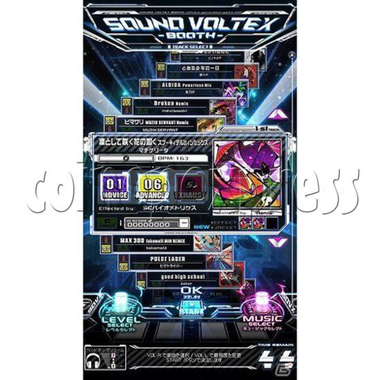 Sound Voltex 4 Arcade Machine offline 27755