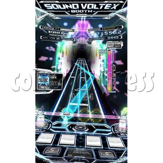 Sound Voltex 4 Arcade Machine offline 27756