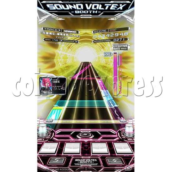 Sound Voltex 4 Arcade Machine offline 27757
