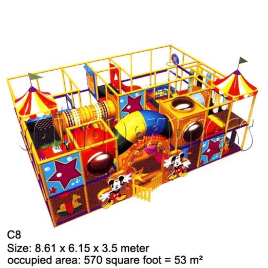 Mini Indoor Playground (339 square feet) 27863