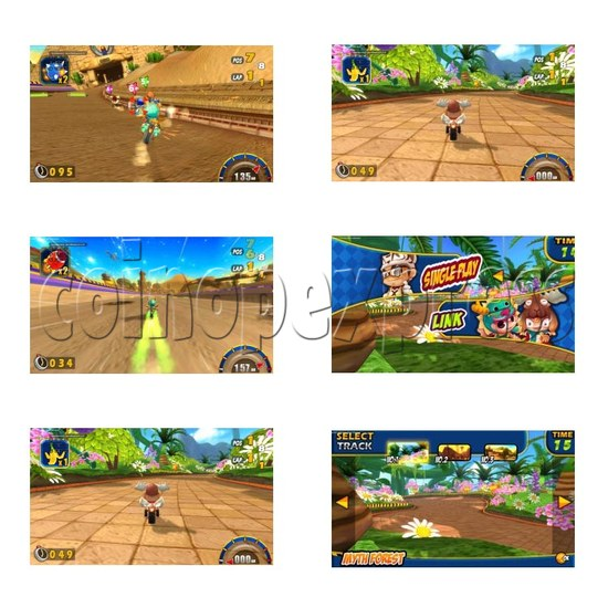 Mighty Moto Racing Game 28082
