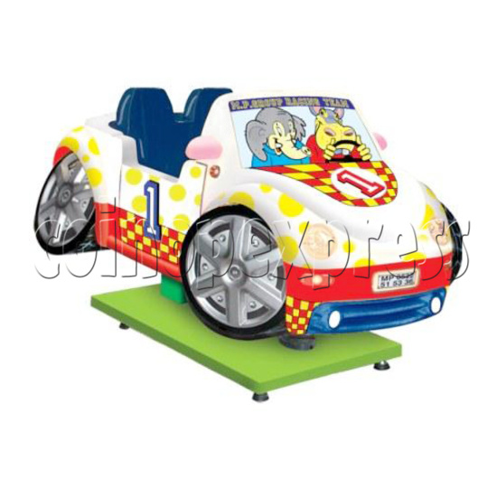 Motion Kiddie Ride: Rally Car 28223