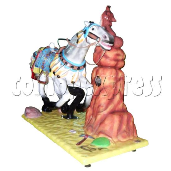 Motion Kiddie Rides - Geronimo's Horse 28241