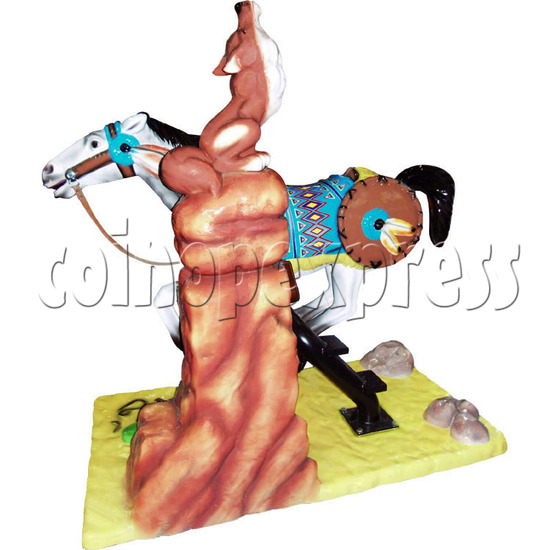 Motion Kiddie Rides - Geronimo's Horse 28242