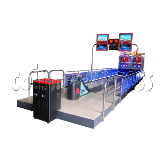 Train Bowling Machine ( 2 lanes) 28272