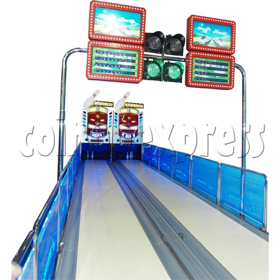 Train Bowling Machine ( 2 lanes) 28273
