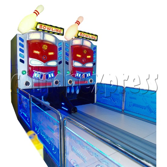 Train Bowling Machine ( 2 lanes) 28276