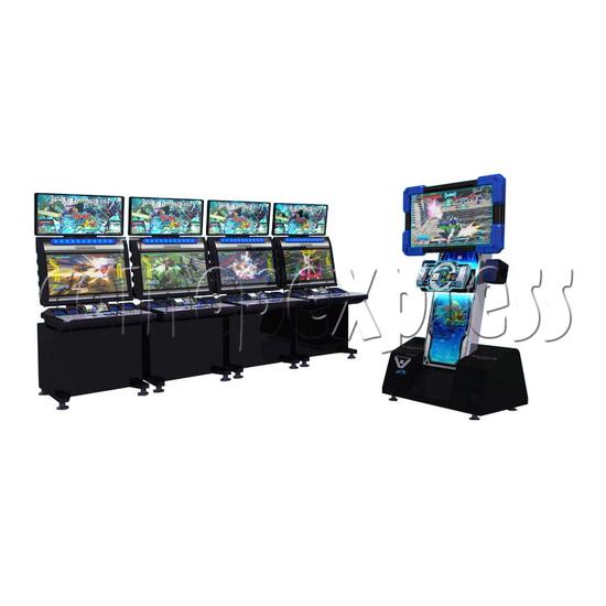Mobile Suit Gundam Extreme Vs Full Boost arcade game 28389