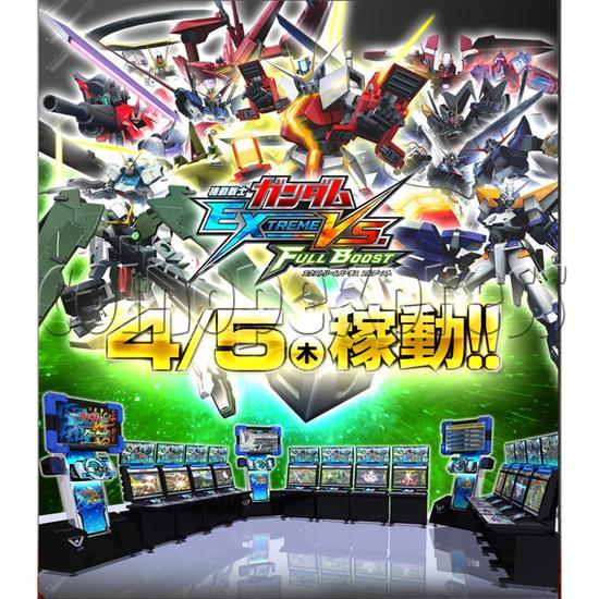 Mobile Suit Gundam Extreme Vs Full Boost arcade game 28390