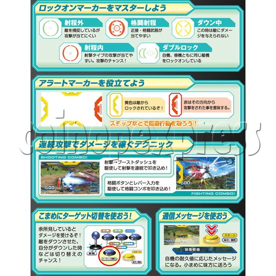 Mobile Suit Gundam Extreme Vs Full Boost arcade game 28392
