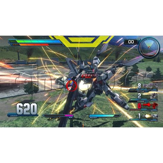 Mobile Suit Gundam Extreme Vs Full Boost arcade game 28403