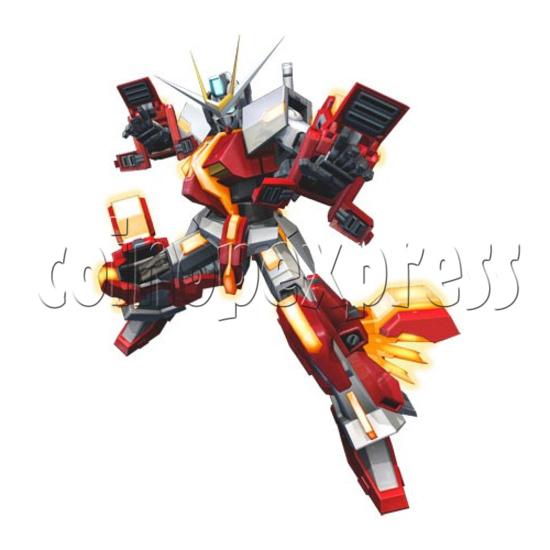 Mobile Suit Gundam Extreme Vs Full Boost arcade game 28404