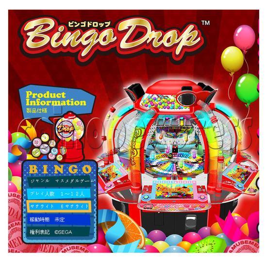 Bingo Drop Medal Game ( 12 players) 28509