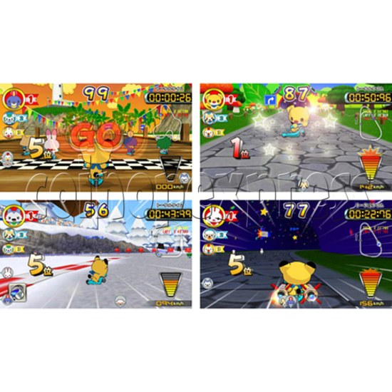 Kick Through Racers Sport Game 28552