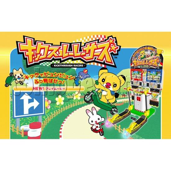Kick Through Racers Sport Game 28553