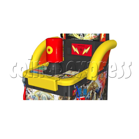 Sonic Blast Heroes Punch Machine 28566