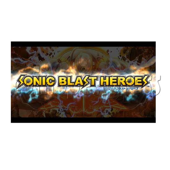 Sonic Blast Heroes Punch Machine 28569