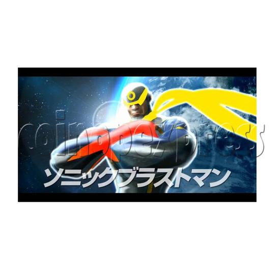 Sonic Blast Heroes Punch Machine 28570
