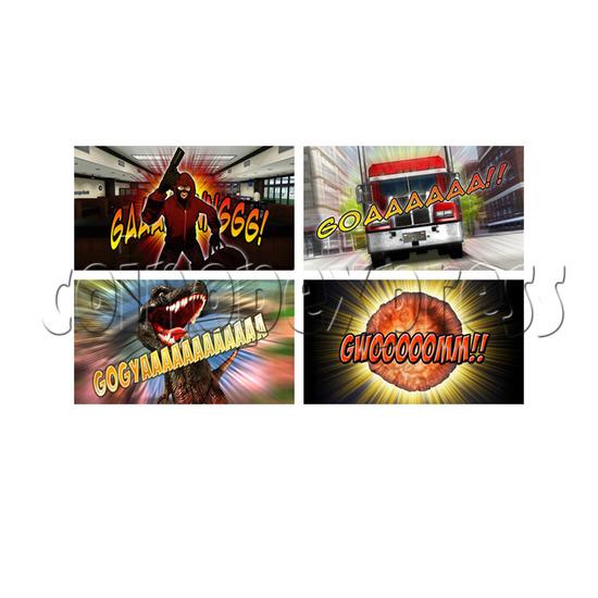 Sonic Blast Heroes Punch Machine 28576