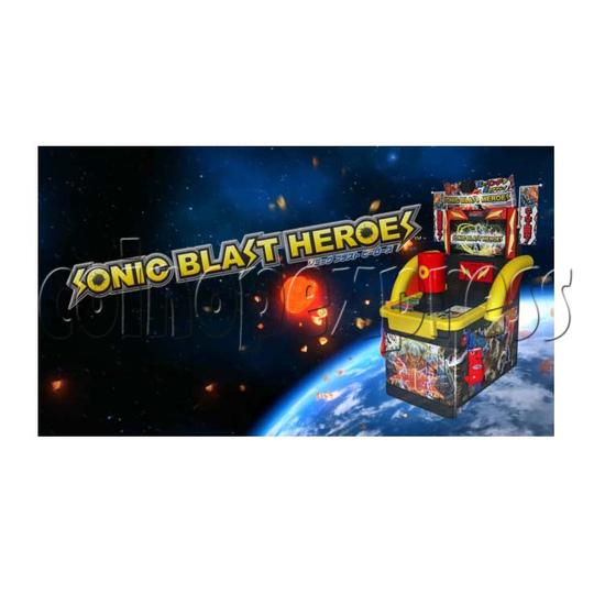 Sonic Blast Heroes Punch Machine 28577
