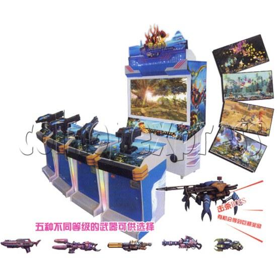 Bounty Hunter Shooting game (4 players) 28641