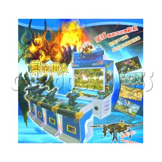 Bounty Hunter Shooting game (4 players) 28642