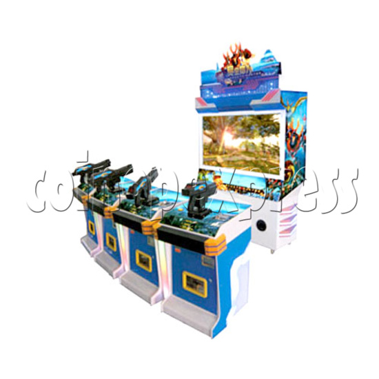 Bounty Hunter Shooting game (4 players) 28643