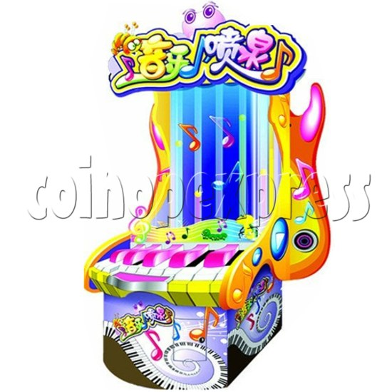 Melody Spring Piano Touch Ticket Redemption Game 28897