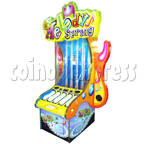 Melody Spring Piano Touch Ticket Redemption Game 28898