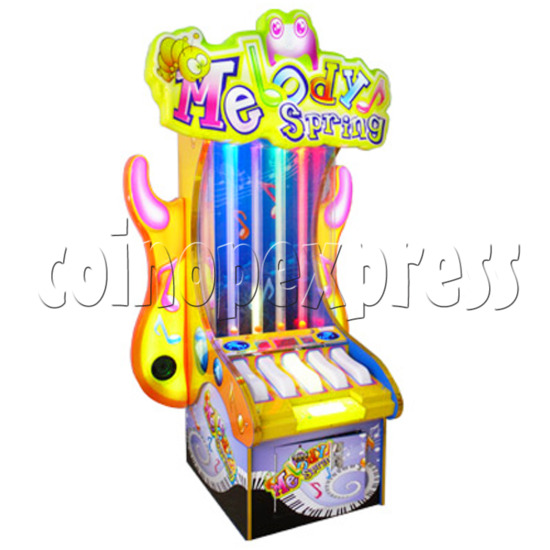 Melody Spring Piano Touch Ticket Redemption Game 28899